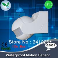 Free Shipping,180degree Motion Sensor,Energy Saving Auto Motion Sensor/Detector Light Switch