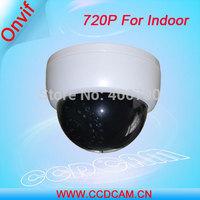 CCTV Plastic Dome IR IP Camera 1.0 Megapixel Low Lux Web Camera for indoor use EC-IP3121