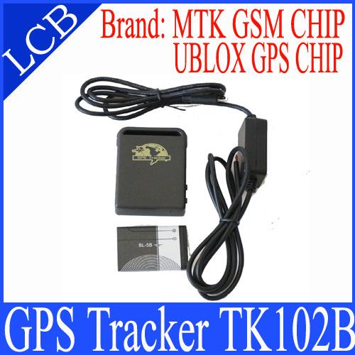 Newest TK102B GPS Tracker TF-card slot G-sensor Tri-Axis Controller Quad-band Long time standby gps tracker(China (Mainland))