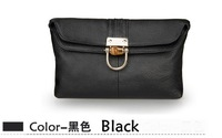 Free Shipping 1pcs+Genuine leather multifunction Clutch /ladies handbags/ Messenger bag /leather bagsF05