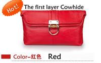 Free Shipping 1pcs+Brands Genuine leather multifunction Clutch / Messenger bag /ladies handbags /F0005