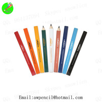 Customized 7inch octagon paint carpenter pencil with logo  ,LH-195