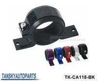 Tansky - Aluminum Single Fuel Pump Bracket / Fuel Filter Bracket 60 MM FOR Bosch / WALBRO 044 BRACKET Black Color TK-CA118-BK