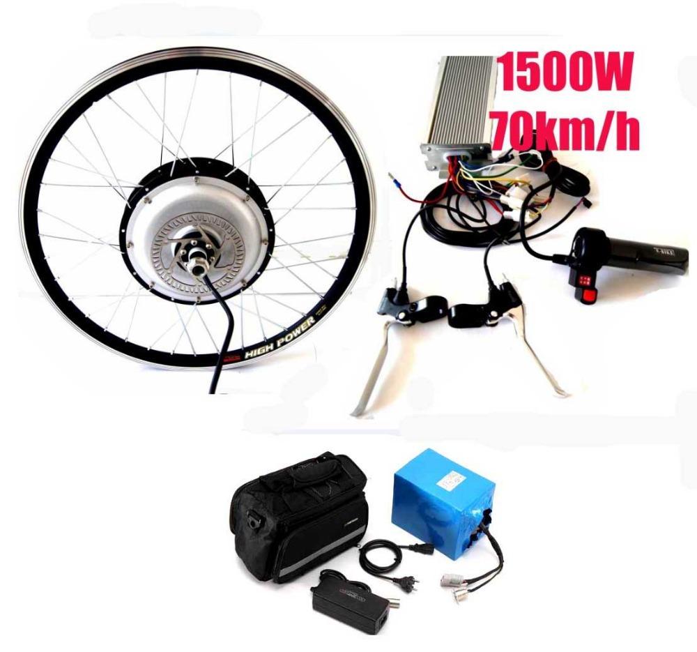 1500w Brushless Motor With 48v20ah Lifepo4 Battery
