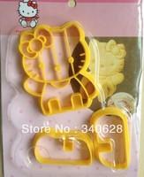 Factory Wholesale cat shape cake cookies machine plunger paste sugar craft decorating 10sets/lot