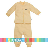 2014 Free Shipping Baby Clothes Boy Spring Clothing Sets Girls Autumn Suits Long Sleeve Cotton Sets K2207