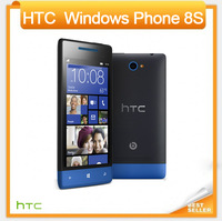 Original 8S HTC Windows Phone 8S A620e 3G 5MP Wifi GPS 4 inch Unlocked Smart Cell Phone EMS DHL Free Shipping