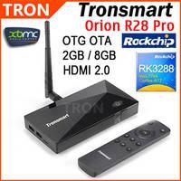 Tronsmart Orion R28 Pro RK3288 Quad Core 2.0GHz Google Android TV Box 2GB RAM 8GB ROM Wifi Bluetooth OTA OTG Android 4.4