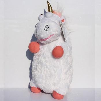 Retail 1Pcs 60cm Large Size Despicable me Unicorn Plush Toys Soft Doll For Girl Free Shipping