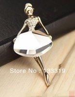 Min.order is $5 (mix order) HOT Sale! Popular elegant angel Brooches Jewelry T6104