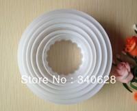 Factory Wholesale10sets/lot Circle Shape Mold Sugar Arts Set Fondant Cake Tools