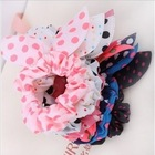 2013 Flower Hair Accessories Dot Leopard Elastic Hair Bands Headbands For Women Hair Bows(China (Mainland))