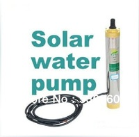 24V high flow solar water pumps deep with10 M Solar water pumps for agriculture & drink water
