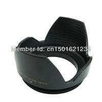 58mm Petal camera Lens Hood For Canon EOS 1100D 1000D 600D 550D 500D 60D 18 to 55mm lens