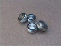 NEW 4pcs Mouse over image to zoom  aluminum machine feet AMP parts --silver Diameter: 39mm, high: 17mm