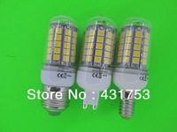 NEW 85-265V/AC  G9 5W 6W 7W 12W  5050 69LED Corn Bulb Light LED Lamp 360 degree white / warm white ( high brightness )