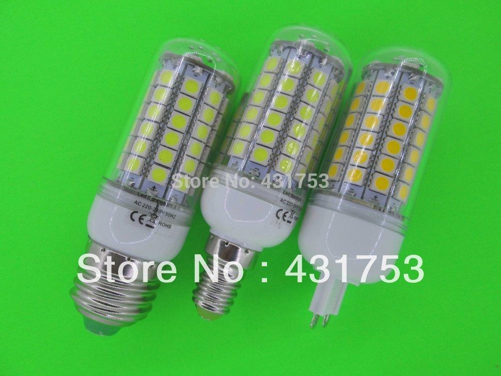 2014 Hot Sale Freeshipping Chandelier New 85v-265v/ac E27 5050 Led Corn Bulb Light Lamp 360 Degree / Warm ( High Brightness )