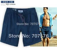 Man's Fat face slacks elastic waist casual beach trousers Boy's SHORTS plus size Garment