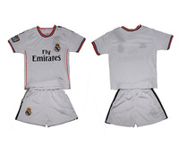 soccer jersey 13 14 kids Real Madrid home kid's football jersey soccer uniforms kid