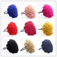 New 2014 wholesale 6 pieces/lot  Korean style top grade luxurious big flower headband for women girls hair band headwear