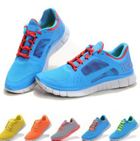 Free Shipping !2013 Newest men's free run+3 5.0 running sports shoes!high quality mens sneakers barefoot shoes