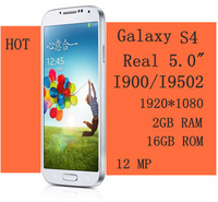 2013  For I9500 MTK6589 Quad-core I9502 Real 5.0 Inch 1920*1080 HD 2GB RAM Phone 16GB ROM Android Smartphones