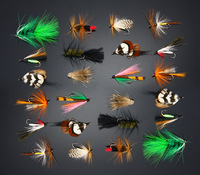 48Pcs Steelhead Bugger Wooly Buggers Streamers Trout Fly Fishing Flies