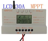 30A MPPT LCD Solar Charge Controller 12V/24V 380W/760W Solar Panel Regulator Auto Work,Hot Sale