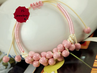 2013 New Ceramic Ornaments Item YL.003B! YuLin Fashion Jewelwey! Wholesale! Lovely Colourful string  Ceramic  Bracelets!