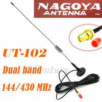 Nagoya UT-102UV SMA-F Female Dual Band Car Antenna for BAOFENG Portable CB Radio UV-5R UV-5RA UV3R+ UV-5RE Plus UV-B5 UV-B6 UV82