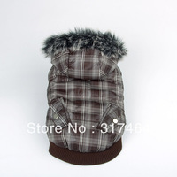 Sze XS S M L XL Dog Winter Coat  QKC12014B NEW Warm Faux Fur Hood Dog Winter Coat Pet Winter Coat XS S M L XL