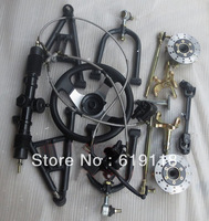 ATV Karting converted four car accessories steering brakes front suspension assembly of modified cars