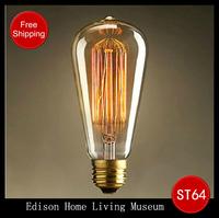 Special lighting Filament bulb Art light bulb vintage retro Edison lamp E27 Halogen Bulbs ,FREE SHIPPING