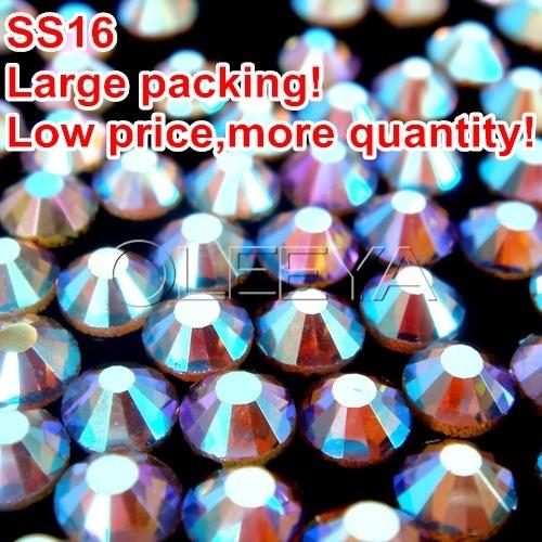 ss16 Color Light.colorado topaz AB Large packing 200Gross/bagDMCHotFix Flatback Transfer Rhinestone Bag,Shoe,Pjone,Clothes Y0427(China (Mainland))
