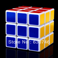 New 57mm 3x3x3 Smooth Shengshou Wind Magic Cube Speed Cube - White