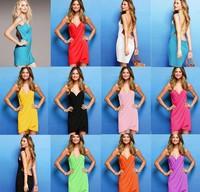 Free Shipping 9 Colors Sexy Beach Discount Bikini Dress Sexy Women Open-Back Swimsuits Bikini Cover Up