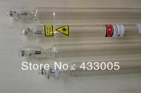60w 120cm  CO2 Sealed laser tube laser engraving cutting machine , laser machine part co2 laser tube