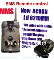 LTL Acorn 6210MG SMS Remote control MMS GSM Hunting Camera GPRS game scouting Trail Camera with external antenna