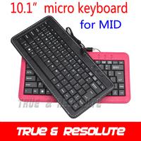 Free Shipping High Quality Micro USB Keyboard Case For Ainol Novo10 Hero Ainol Novo 10 Eternal CUBE U30GT Ampe A10 etc.