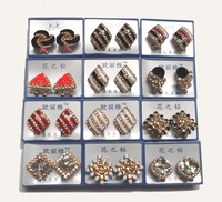 Free Shipping 10Pair/Lot Mix Style Fashion Earring Nail For Gift Craft Jewelry EA6