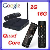 MINIX NEO X7 Android TV Box Quad Core Mini PC 2G/16G WiFi HDMI USB RJ45 OTG Optical XBMC TV Receiver + F10 Air Mouse