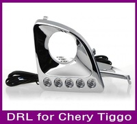 New style daytime running light DRL for chery tiggo special car fog lamp Fast delivery