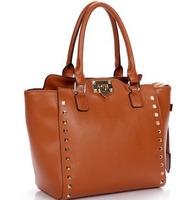 quality guarante women handbag 100% genuine leather fashion multifunction tote+shoulder+messenger bag