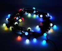 6m 40 LEDs Colorful Ball Shape String Fairy Light Wedding Christmas Party Decor 220V