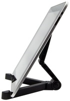 Portable Fold-Up Stand for Apple iPad, Galaxy Tab, Kindle Fire, Playbook, Xoom, Acer, Nook and Other Tablets