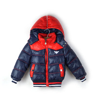 High-edn quality 2013 new autumn&winter children's clothing fashion thicking warn boys jacket kids outerwear&coat Free shipping