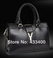Free Shipping 2014 Large Vintage Women Handbag Fashion Women Shoulder Bag Tote YAHE Women Leather Handbags  Brand New WB3010