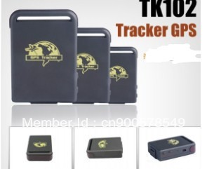 motorcycle tracker,TK102 Mini Personal Gps tracker For Motorbike+12-24V Hardwired Car charger+Free Shipping(China (Mainland))