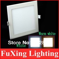 Square 3w/4w/6w/9w/12w/15w Super Thin LED Panel Light White/Warm White LED Down Light
