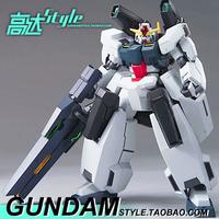 Tall model 00 up to HG 00-26 Seraphim Gundam 1:144 stentless Japanese cartoons military robot building Toy bricks War model 14cm